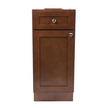 "B21 - 21"" Cherry Kitchen Base Cabinet"