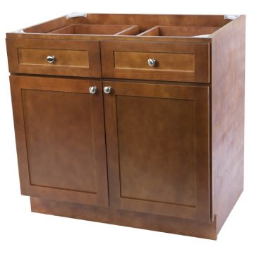 "B27 - 27"" Cherry Kitchen Base Cabinet"