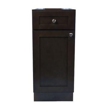 "B21 - 21""  Espresso Kitchen Base Cabinet"
