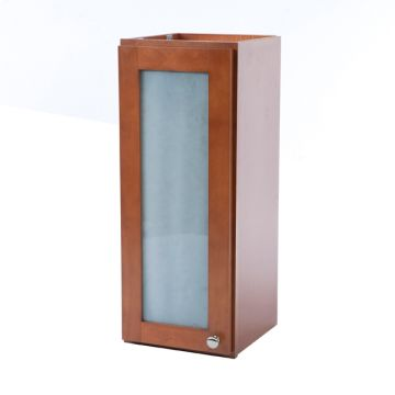 """W1830-FG - 18"""" x 30"""" Cherry Wall Cabinet with Frosted Glass Door"""