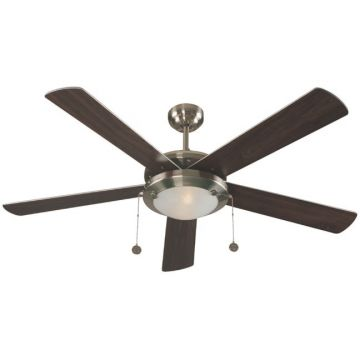 """Contemporary 52"""" LED Ceiling Fan"""