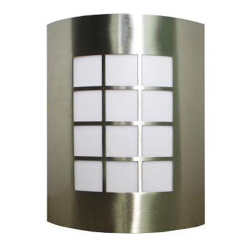 Modern Outdoor Porch Wall Light - Stainless Steel