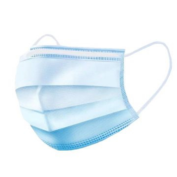 3-Ply Disposable Face Masks - Box of 50