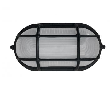 "Oval 8"" LED Exterior Bulkhead Light Fixture"