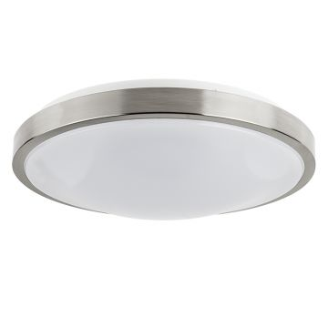 "Larchmont LED Ceiling Light, Brushed Nickel, 14"" Diameter, 20W"