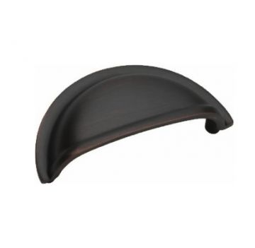 Cup Cabinet Pull - Oil Rubbed Bronze