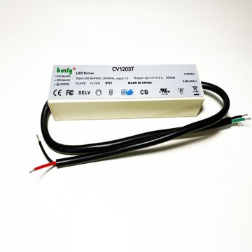 12W Power Supply for LED Under Cabinet Lighting
