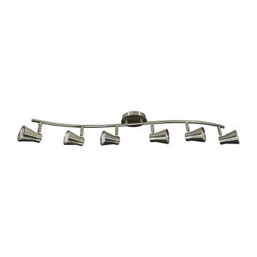 Madigan 6-Bulb Curved Track Light