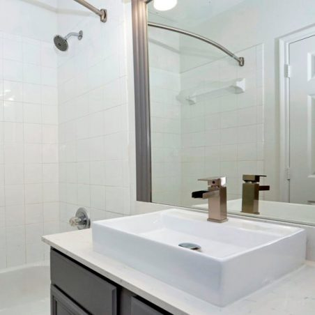 Clean and Classic White Bathroom