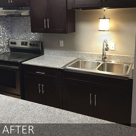 Sawyer's Mill Apartments – Kitchen Remodel